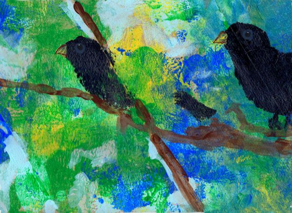 crows in trees 2